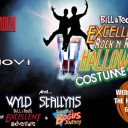 Bill & Ted's Excellent Rock N Roll Halloween Costume Party