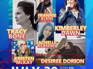 Manitoba Indigenous Music Weekend 2021   Ladies of Country Music Night