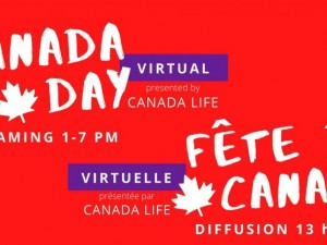 Canada Day Virtual presented by Canada Life