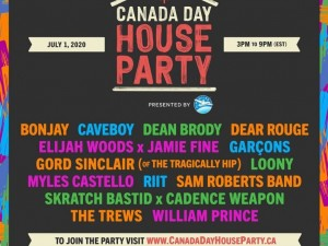 Canada Day House Party