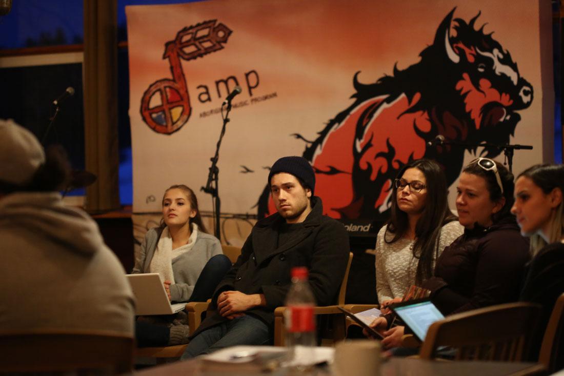 Participants at AMP Camp 2016