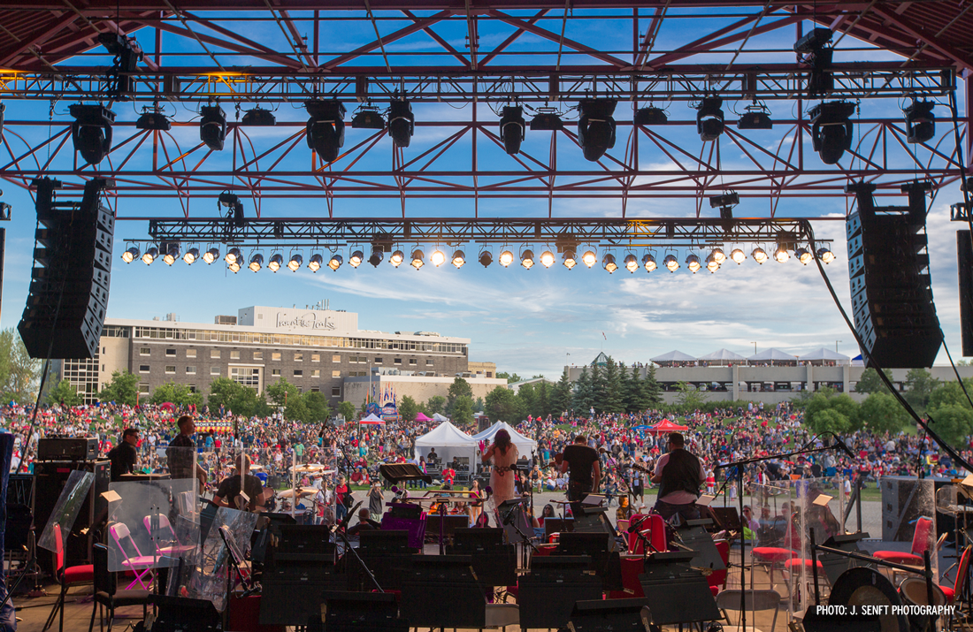 Canada Day at The Forks (Photo: J.Senft Photography)
