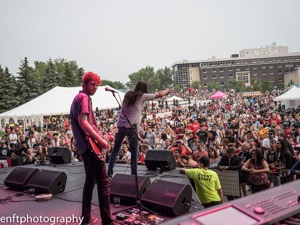Attica Riots at Canada Day at The Forks in 2015 (Photo: J.Senft Photography)