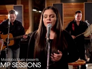 Jade Turner at the AMP Sessions video shoot at Bedside Studios